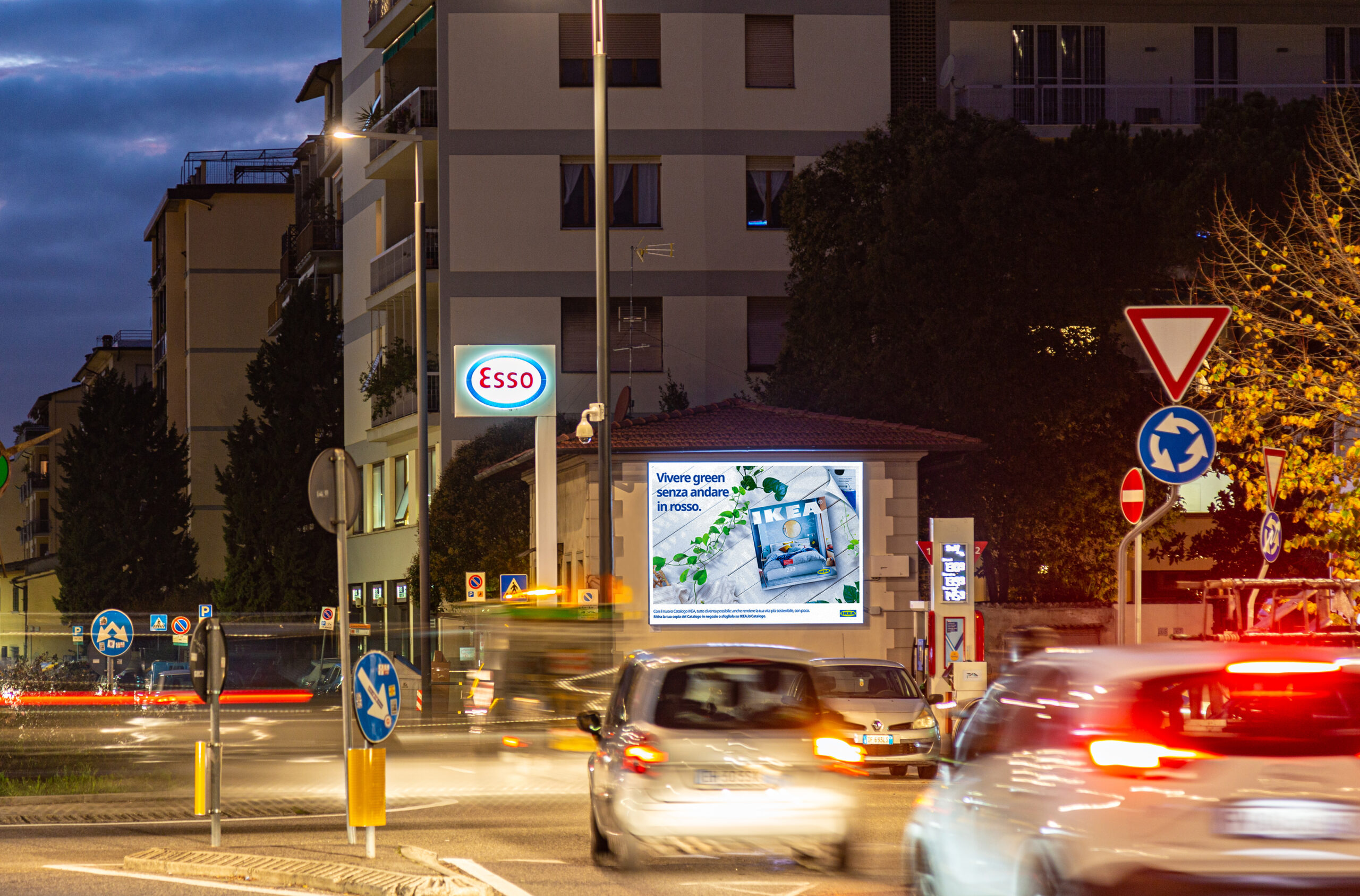 FI – Via Aretina – poster ledwall 4×3 (notturna)